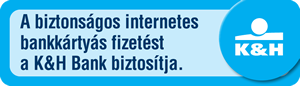 K&H biztonságos internetes fizetés