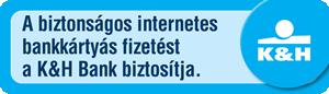 K&H biztonságos internetes fizetés